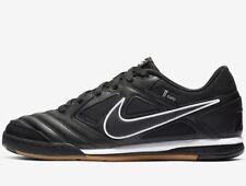 🔥 Nike SB Gato Leather ® ( Men All Sizes UK: 8 & 10 ) Black / Gum Supreme QS