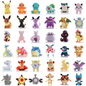New Pikachued Plush Doll Pokemoned Stuffed Toy Charmander Squirtle Bulbasaur