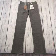 Men's Jacob Cohen Jeans 32 x 34 Handmade J623 Finest Wool Pants in Grey RRP £380