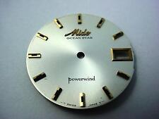 29.26mm Mido Vintage Ocean Star Powerwind Pearl Watch Dial Date Window Stick Mrk