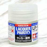 Tamiya Color 田宮 タミヤ Lacquer Model Kit Paint 10ml # LP-10 Lacquer thinner