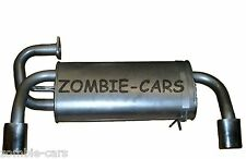 MG ROVER MGF 1.8 95-00 EXHAUST REAR SILENCER BACK BOX 100% QUALITY (3 YEAR GT)