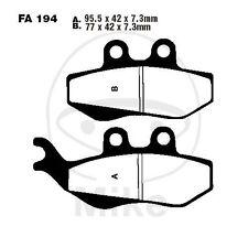 Derbi Senda 125 R Baja  BJ 2010-2014 - 12 PS, 8,8 kw EBC Standard Bremsbeläge