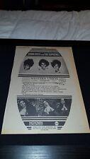 Diana Ross And The Supremes Tarzan Rare Original 1968 Promo Poster Ad Framed!
