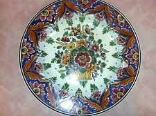 """Magnificent Vintage Delft 12"""" Charger-Made in Holland"""
