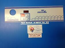 Carpigiani Parts Agemaster 60 Tronic Touch Button Front Panel Decal