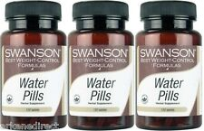 3 x Water Pills TABLETS * WATER RETENTION BLOATING , DIURETIC, DIET - 360 TABS