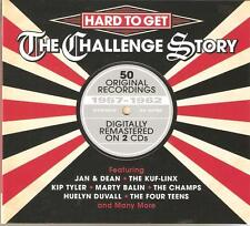 HARD TO GET THE CHALLENGE STORY 1957 - 1962, 2 CD BOX SET