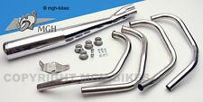 Motad Edelstahl INOX VA Auspuff Exhaust Honda CB 750 F1 76 CB750F NEW