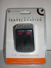 iConcepts Usb World Travel Adapter 110-240 Universal