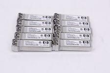 Lot of 10 Hp Aj718A StorageWorks 8Gbps Short Wave 150m 850nm Lc Sfp+ 468508-001