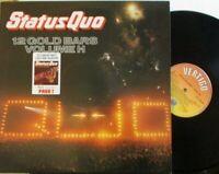 STATUS QUO ~ 12 Golden Bars Volume II ~ GATEFOLD VINYL LP + Volume I