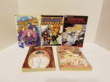 Mix Manga Lot 5 Books vampire knight, Alice 19th, Teru Teru Excel Saga, Maburaho