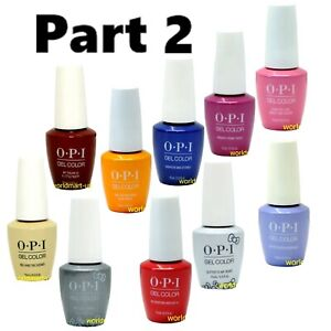 OPI Nail Polish 0.5fl.oz Soak Off Base Top Color Part #2 /Choose Any Color