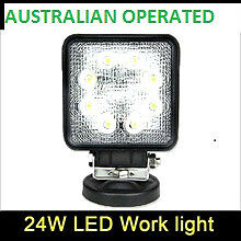 9-32v 4 inch 24w auto led truck work lights TC-2408S-24w