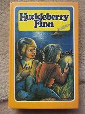 HUCKLEBERRY FINN BY MARK TWAIN HARDBACK BOOK