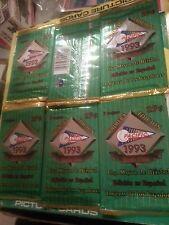 TEN (10) 1993 Pacific LIGA MAYOR De BEISBOL Baseball Mylar Packs FROM FRESH BOX