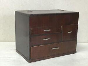 Y2403 TANSU Chest of Drawers storage interior Japanese antique vintage decor