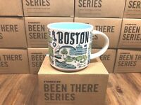 Starbucks BEEN THERE SERIES Collection BTS - BOSTON 14oz Mug NIB
