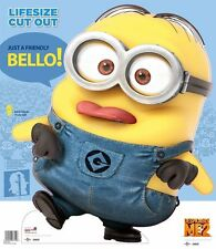 DAVE MINION DESPICABLE ME 2 LIFESIZE CUTOUT STANDEE STAND UP CARDBOARD KIDS GIFT