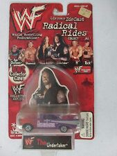 Toy Island WWF Radical Rides The Undertakes vehicle w/ Bonus Collector Card