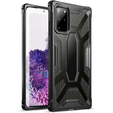 Galaxy S20 Plus Case,Poetic Lightweight Shockproof Protective Cover Black/Clear