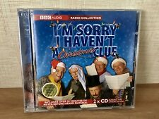 I'm Sorry I Haven't A CHRISTMAS Clue Audio Book BBC Radio Collection 2hr 30mins