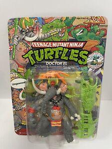 Teenage Mutant Ninja Turtles MOC  Doctor Dr. EL New on card vintage TMNT