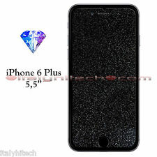 PELLICOLA PROTETTIVA DISPLAY SCHERMO GLITTER DIAMANTATA BRILLANTE IPHONE 6 PLUS