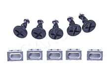 Genuine Porsche Cayenne 2003-10 5x Engine Compartment Cover Plate Clamps+Screws