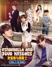 Korean Drama: Cinderella and Four Knights   Tv Series   Dvd   Eng Sub