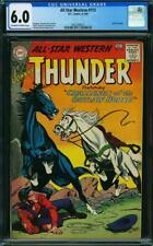 All-Star Western #113 (CGC 6.0 OW/White) 1960 RARE, Johnny Thunder, 2nd Highest