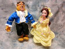 Collectible Walt Disney, Brass Key, Beauty and the Beast Porcelain Dolls 1549