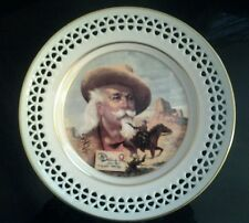 Vintage PONY EXPRESS B&G Collector's Plate, Buffalo Bill's Wild West
