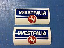 Vw Volkswagen Westfalia With Horse Camper Bus Van Sticker Decal Set