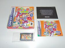 Puyo Pop Fever | Sega | Nintendo Game Boy Advance GBA | Complete