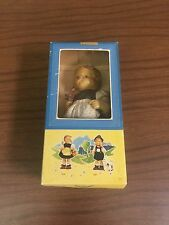 Vintage M. J. Hummel Gretl Doll New In Original Box W. Goebel Made West Germany
