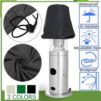Outdoor Patio Area Heater Cover UV Protector Garden Polyester Waterproof Black
