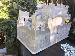 Handmade Castle for children heavy Large  wooden toy Fab