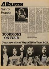 Scorpions Virgin Killer UK Tour advert 1977 MM-DHIP