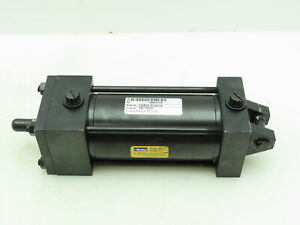 "Parker Pneumatic Dbl Acting Air Cylinder 2-1/2"" Bore 4"" Stroke 250PSI Clevis Mt"