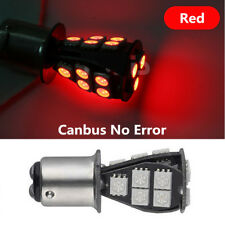 1157-18SMD-5050 LED Canbus No Error Car Brake Turn Light Stop Bulb Red 1Pc