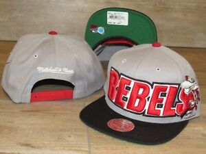 Mitchell & Ness UNLV Runnin' Rebels Vintage Style Snapback Hat Cap size Men's