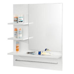 Spiegelschrank Badspiegel Wandschrank Hängespiegel mit Regal Badezimmerschrank