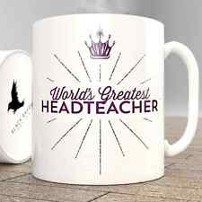World's Greatest Headteacher - Mug