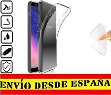 Funda Silicona Carcasa posterior Samsung Galaxy J6 2018 Transparente 1mmM -