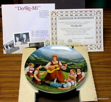 "The Sound of Music Collector Plate ""Do-Re-Mi"""