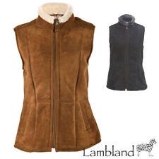 Manteaux et vestes en cuir sans manches pour femme