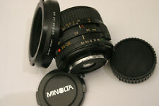 Minolta 24-35mm F3.5 MD lens. Minolta MD fit