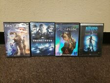 Abyss Special Edition Oop + Prometheus + Fantastic 4 + Aeon Flux Dvd Lot Free Sh